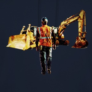 Diggers and Dozers - Sweat-shirt à capuche unisexe