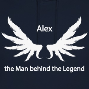 Alex the Man behind the Legend - Unisex Hoodie