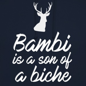 Bambi is a son of a biche - Sweat-shirt à capuche unisexe