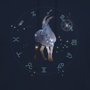 univers capricorne constellation astrologie sternzeic - Sweat-shirt à capuche unisexe