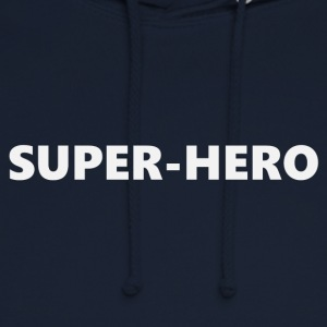 Superhero V2bkEN - Sweat-shirt à capuche unisexe