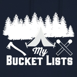 My Bucket Lists - Camping - Unisex Hoodie
