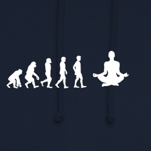 EVOLUTION méditation du yoga - Sweat-shirt à capuche unisexe