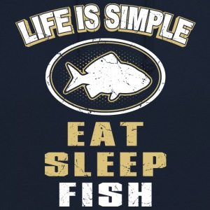 Eat Sleep Fish - Unisex Hoodie