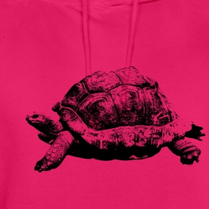 tortue - Sweat-shirt à capuche unisexe