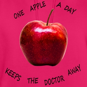 One apple a day keeps the doctor away! - Unisex Hoodie