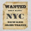 NYC wanted - New York - Unisex Hoodie