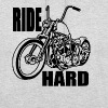 Ride hard  - Sweat-shirt à capuche unisexe