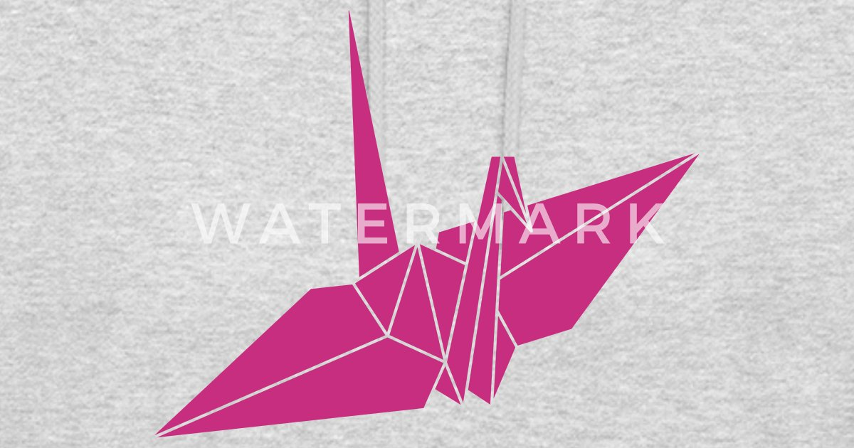 Bekend origami kraanvogel van SoundAndVision | Spreadshirt &RX59