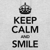 Keep Calm And Smile - Sudadera con capucha unisex