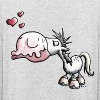 Cheval Baiser - Sweat-shirt à capuche unisexe