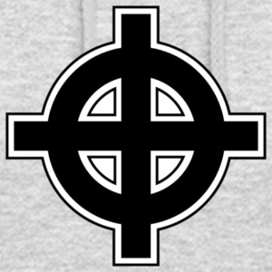 Celtic Cross - Hættetrøje unisex