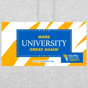 MUGA: Machen Universität Great Again - Unisex Hoodie
