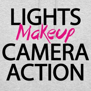 Lights makeup camera action - Unisex Hoodie