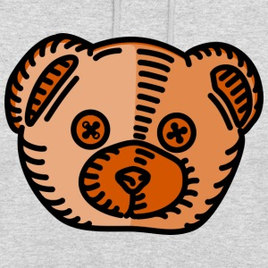 Teddy - Sweat-shirt à capuche unisexe