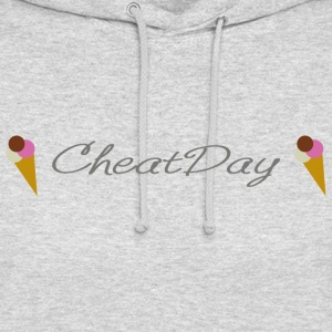 CheatDay - Sweat-shirt à capuche unisexe