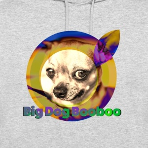 Big Dog Booboo, Chihuahua - Sweat-shirt à capuche unisexe