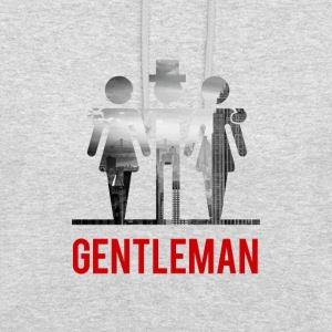 Gentleman avec 2 dames - Sweat-shirt à capuche unisexe