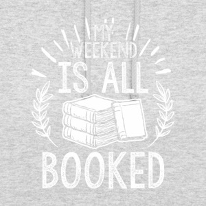 BOOKS BOOK LITERATURE: ALL BOOKED GIFTS - Unisex Hoodie