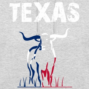 Nation-Design Texas Longhorn - Sweat-shirt à capuche unisexe