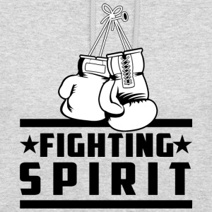 Fighting Spirit - Sweat-shirt à capuche unisexe