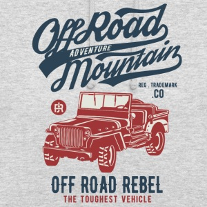 Off Road Jeep - Sweat-shirt à capuche unisexe