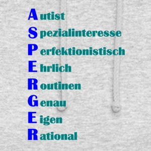 Asperger Syndrom Shirt - Unisex Hoodie