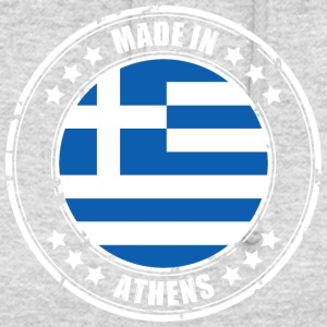MADE IN ATHENES - Sweat-shirt à capuche unisexe