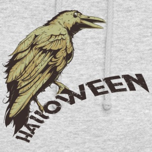 Halloween Horror Raven Raven - Sweat-shirt à capuche unisexe