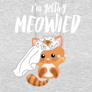 I Marry - Sweet Cat - Engagement Wedding! - Unisex Hoodie