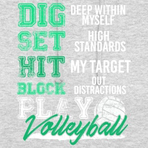 Volleyball Playing Volleyballer Gift - Unisex Hoodie