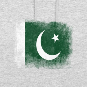 Drapeau Pakistan fier Pakistan Vintage Distressed S - Sweat-shirt à capuche unisexe