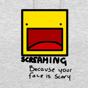 Screaming face - Unisex Hoodie