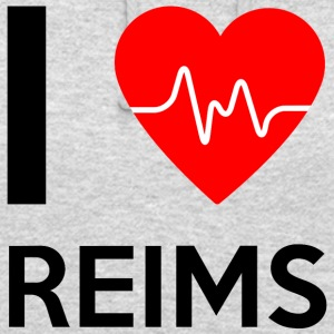 J'aime Reims - I Love Reims - Sweat-shirt à capuche unisexe