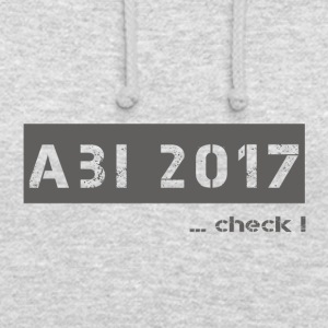 abi 2017 - Sweat-shirt à capuche unisexe