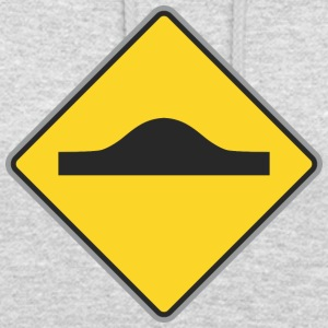 Road Sign Up - Felpa con cappuccio unisex