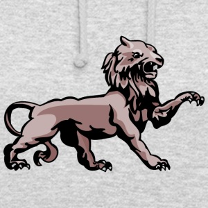 scary lion color - Unisex Hoodie