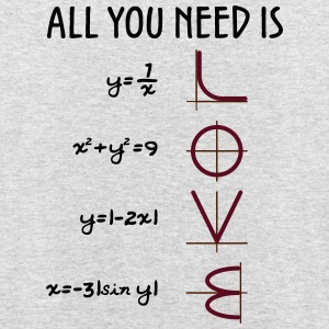 All you need is Love (Equations) - Unisex Hoodie