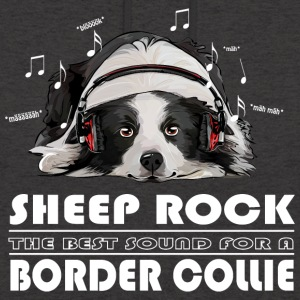 Border Collie SHEEP ROCK - Unisex-hettegenser