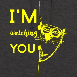 watching you - Bluza z kapturem typu unisex