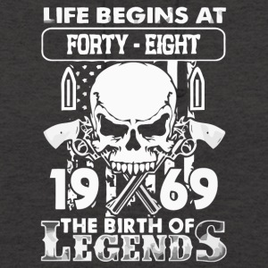 1969 the birth of the Legends shirt - Unisex Hoodie