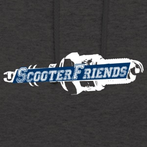 Scooter amis - Sweat-shirt à capuche unisexe