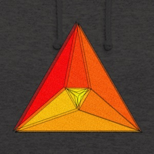 Enzoma - gradient in the triangle - Unisex Hoodie