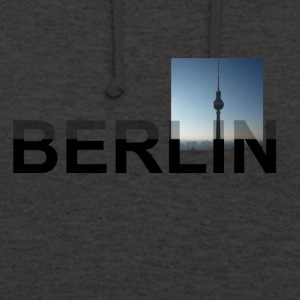 BERLIN - Sweat-shirt à capuche unisexe