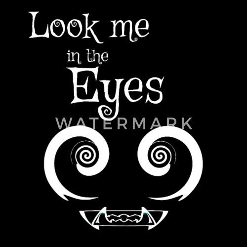 Augen Sehen Hypnose Zähne Halloween Monster Graus Kissenhülle