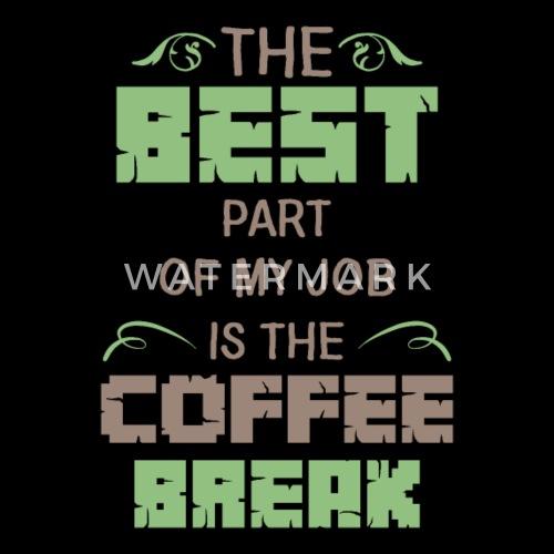 Kaffe Pause Arbeit Humor Lustig Kaffeepause Kissenhülle Spreadshirt