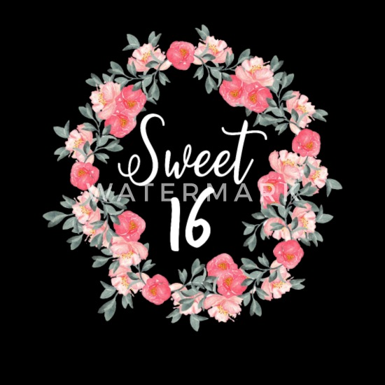 16 Geburtstag Mädchen Teeny Teens Rosen Geschenk