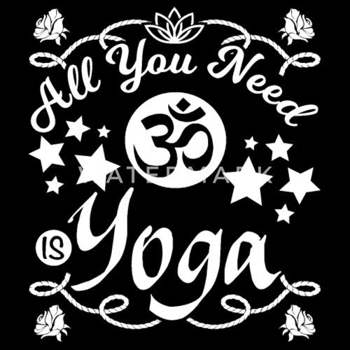 Yoga Motivation Lustige Spruche Kissenhulle Spreadshirt