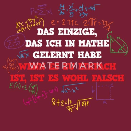 Sprüche lustig mathe Zitate