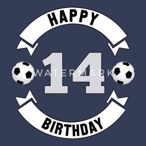 14 Geburtstag 14 Jahre Geburtstagsgeschenk Kissenhülle Spreadshirt